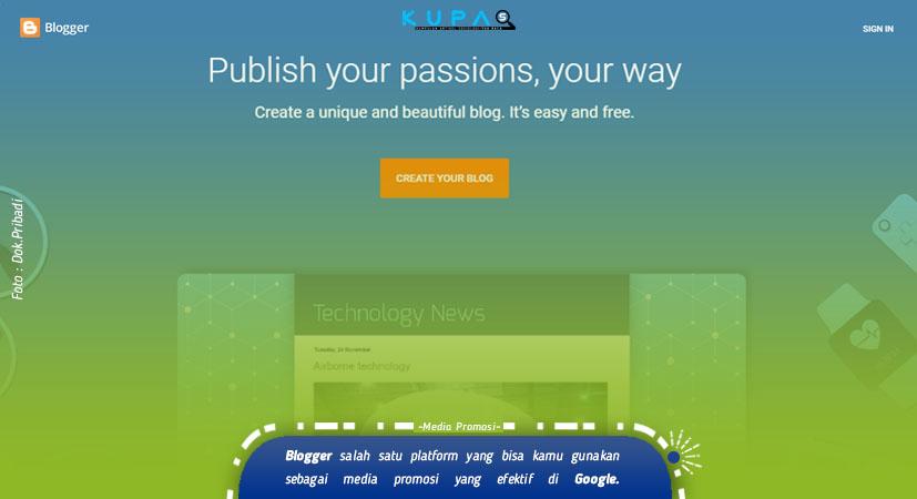 Jasa Pembuatan Blog Gratis untuk Usaha, Bisnis, dan Pribadi