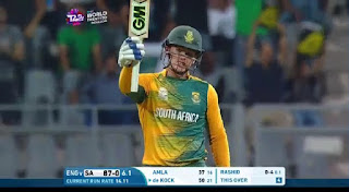 Quinton de Kock 21-ball T20I Fifty Highlights