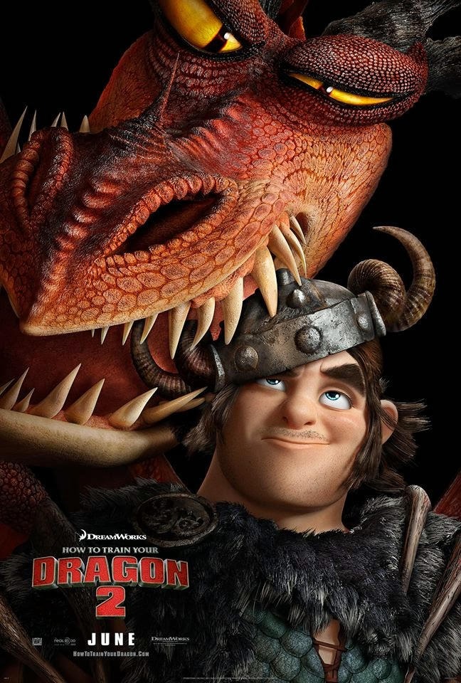 How To Train Your Dragon 2 Snotlout & Hookfang