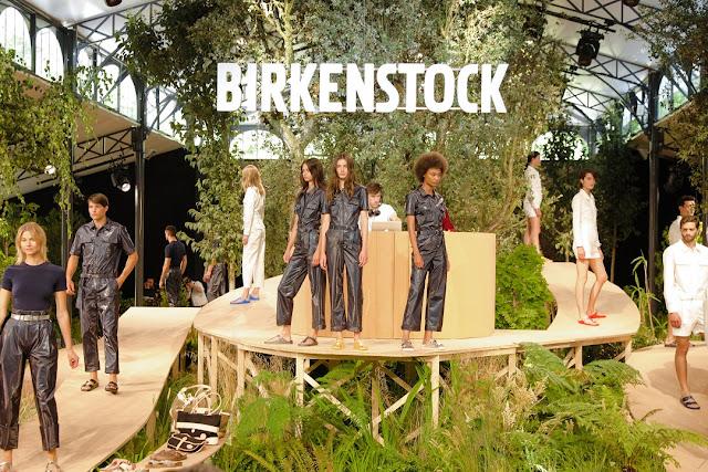 Birkenstock, primavera verano, Spring 2018, paris, Jardín de Tullerías de París, Mel Ottenberg, showroom, desfile, calzado,