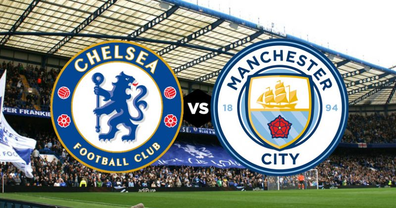 Images From Manchester City Vs Chelsea: Just One Change For Chelsea