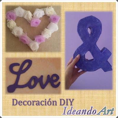 Decoración DIY con cartón