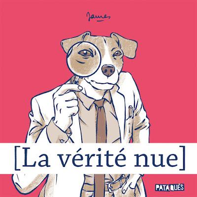 """couverture de  """"LA VERITE NUE"""" de James chez Delcourt"""