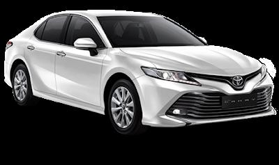 Review Tampilan Eksterior Mobil Toyota Camry