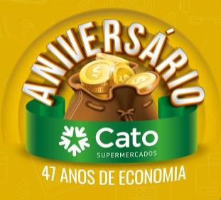 Cadastrar Promoção 47 Anos Cato Supermercados