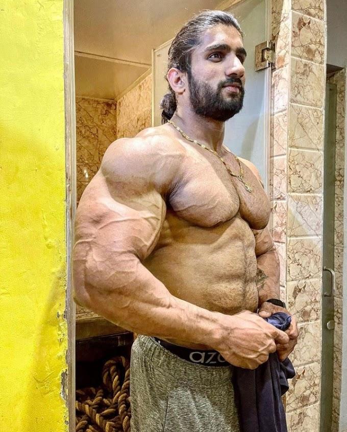 Bodybuilder Nitin Chandila Biography, Wiki, Family, Height, Diet, Workout Routine, Wife, Career