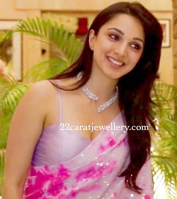 Kiara Advani Classy Diamond Choker