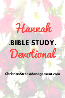Hannah Bible Study Devotional