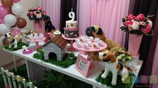 Decoração festa infantil Cachorrinhos