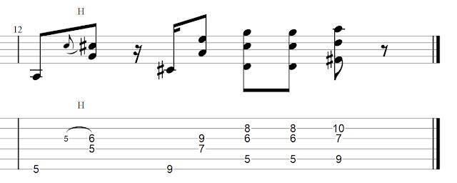 Sebastian Bluschke Country Blues Rhythmus 2B2