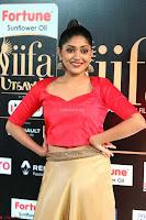 Samyukta Hamod in Red Crop top Brown Skirt at IIFA Utsavam Awards 009.JPG