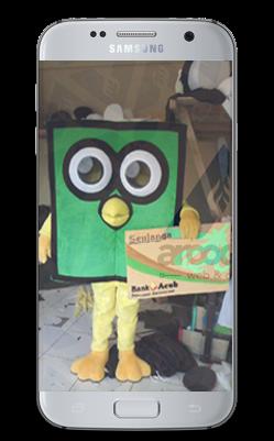 Kelengkapan Kostum Badut Maskot