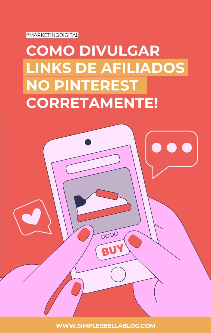 Como divulgar links de afiliados no Pinterest