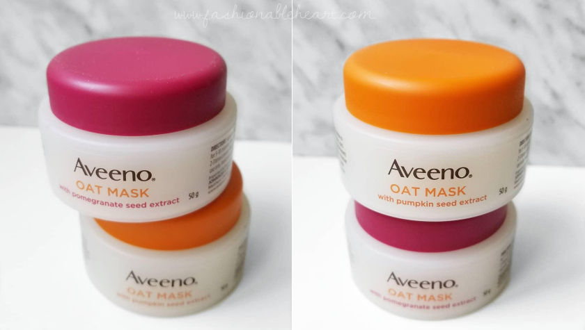 bblogger, bbloggers, bbloggerca, bbloggersca, canadian beauty blogger, southern blogger, beauty blog, skincare, aveeno, oat mask, pomegranate seed extract, pumpkin seed extract, soothe, glow, dry skin, sensitive skin, masks, review, chickadvisor, pamper session, drugstore, face masks
