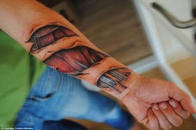Tatuagens hiper-realistas 3D