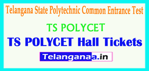 TS POLYCET 2018 Hall Tickets Polytechnic Common Entrance Test Hall Tickets 2018