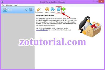 Tutorial Instal Operating System di VirtualBox - zotutorial.com
