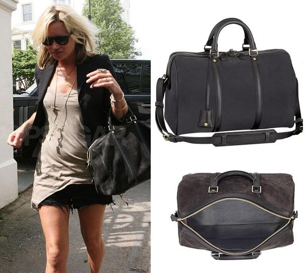 b37f885f61e6 Louis Vuitton Inspired Sofia Coppola for Louis Vuitton Suede Asphalt Handbag.  Want to have a Kate Moss Style