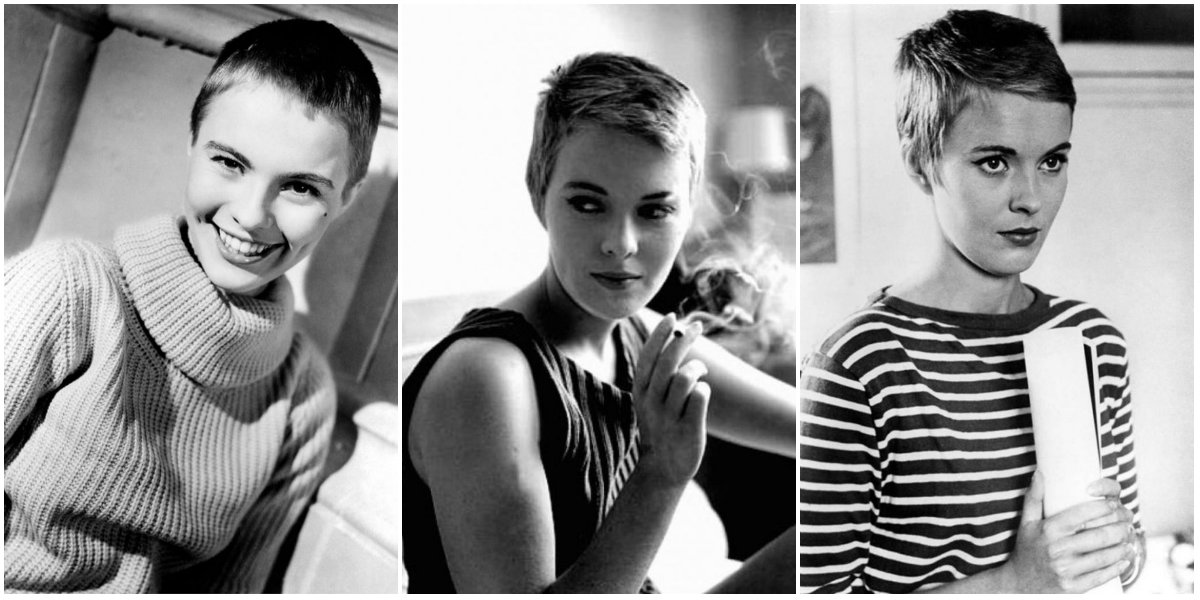 20 Fascinating Vintage Photos Of Jean Seberg S Iconic Short Haircut In The 1960s Vintage Everyday