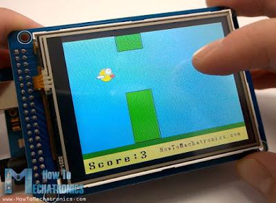 El juego del Flappy Bird con un Arduino