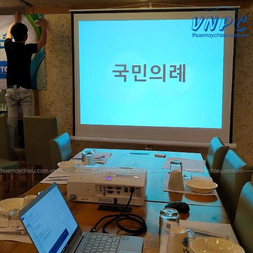 VNPC cho thuê máy chiếu hội họp văn phòng