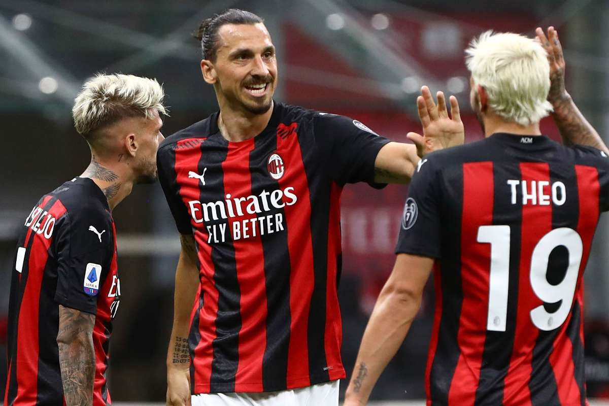 Zlatan Ibrahimovic is in fine form for AC Milan scoring 12 times in his last 10 appearances