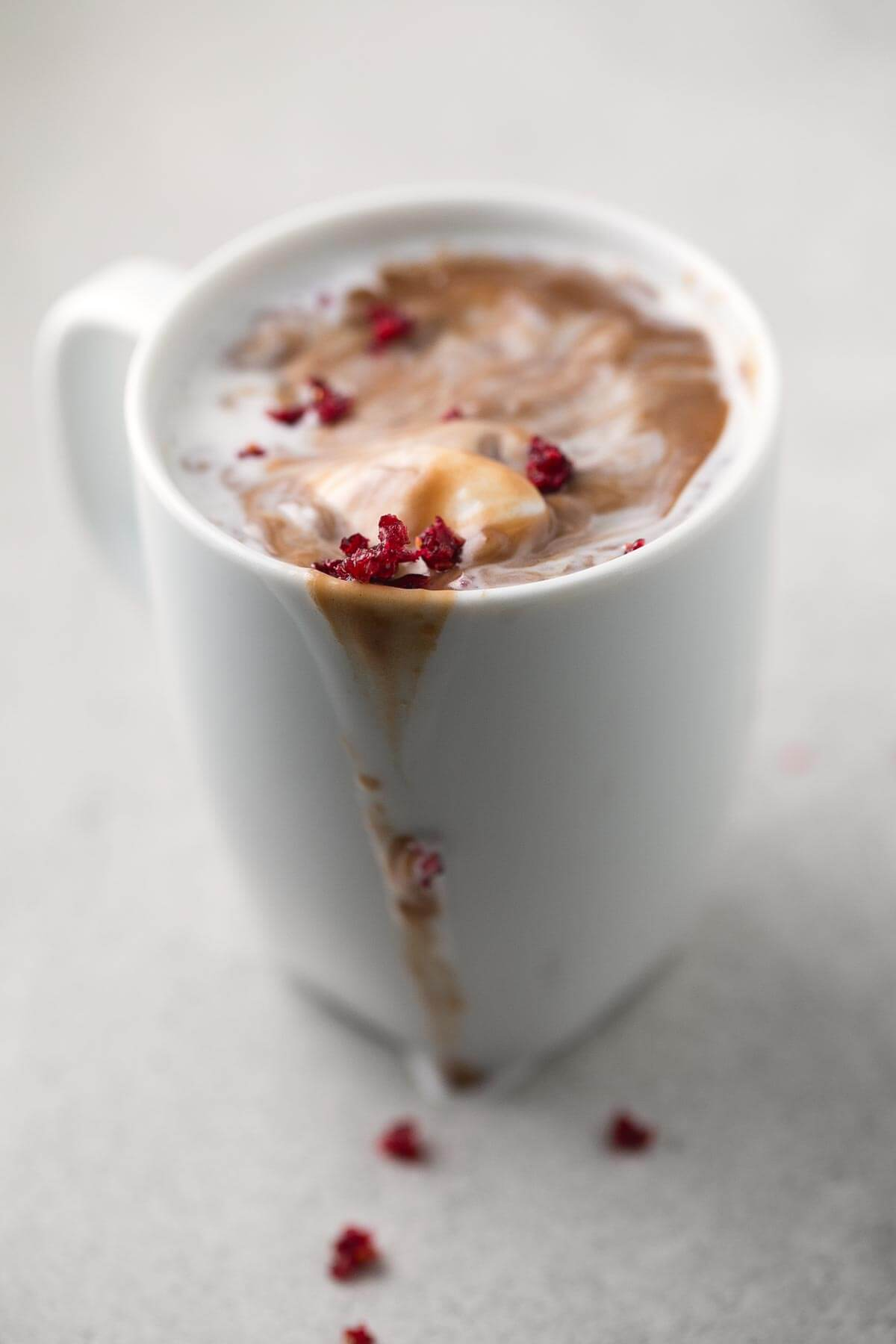 Vegan Hot Chocolate. - Hot drinks help us to warm up, and hot chocolate is a classic. This vegan version is to die for.