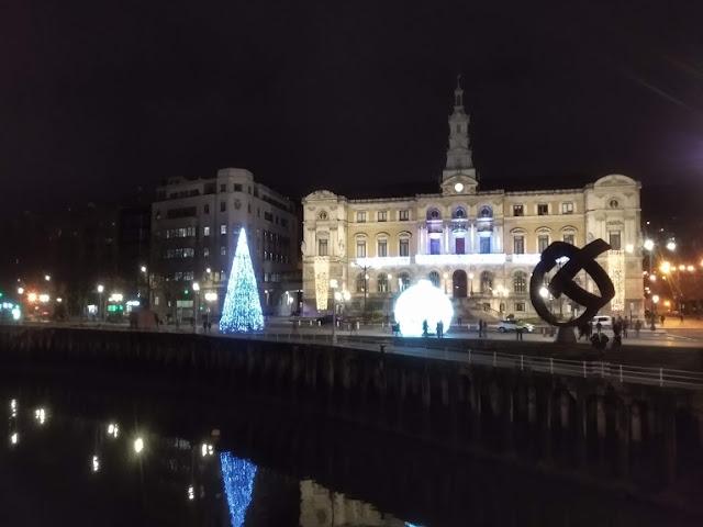 Ayuntamiento de Bilbao en Navidad