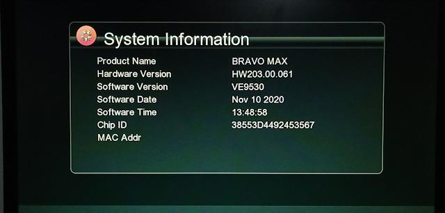 ECHOLINK BRAVO MAX GX6605S HW203.00.061 NEW SOFTWARE 10 NOVEMBER 2020