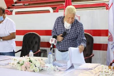 مرتضى منصور: انا  أحرف من الخطيب وكان جايب شيخ من السودان