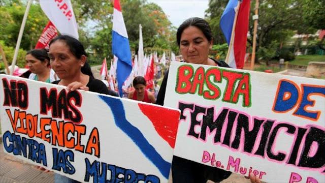 Senado paraguayo aprueba una ley contra la violencia feminicida