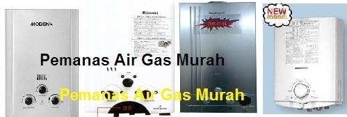 Nama Merk Pemanas  Air Gas di Indonesia