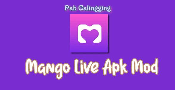 Download Mango Live Ungu v.3.3.7 APK Mod Bisa Unlock Room