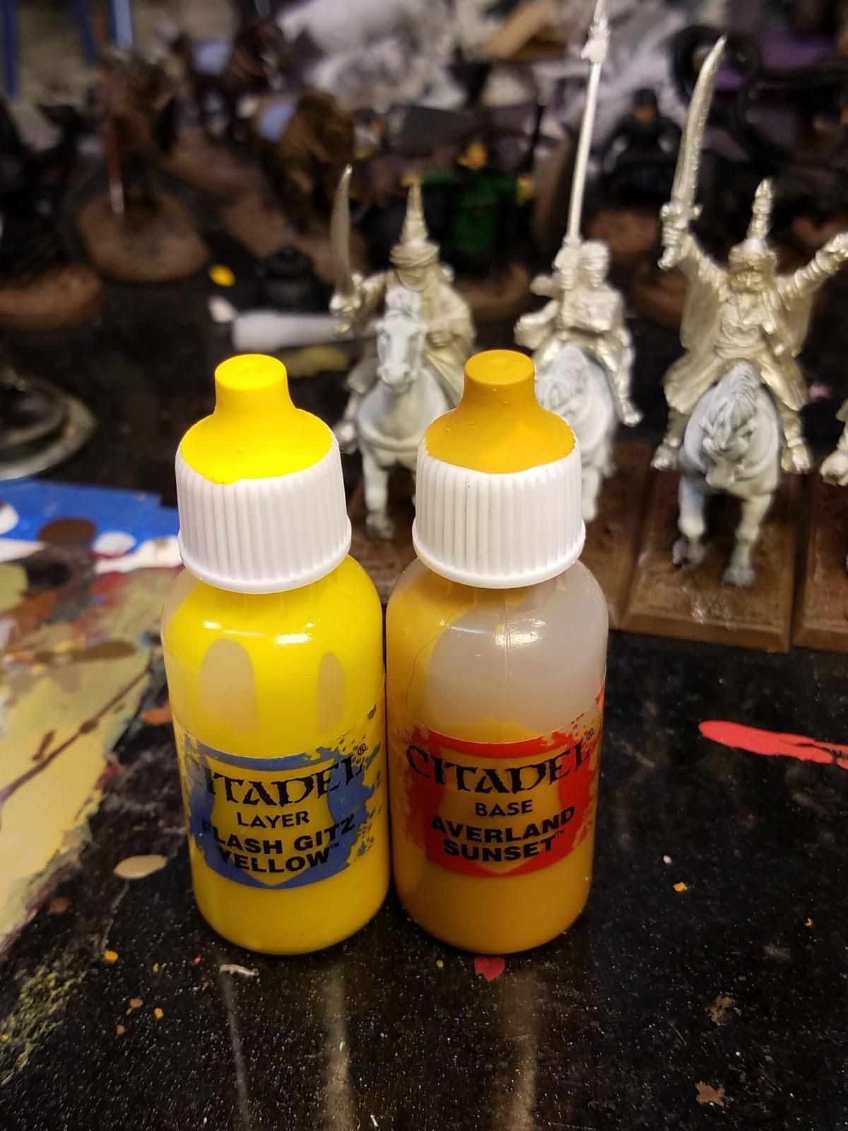 Can You Mix Citadel Paints
