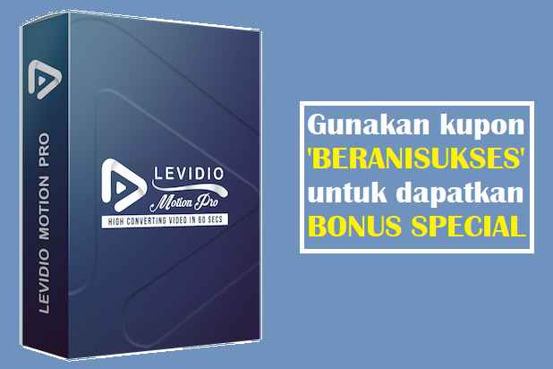 kupon levidio motion pro