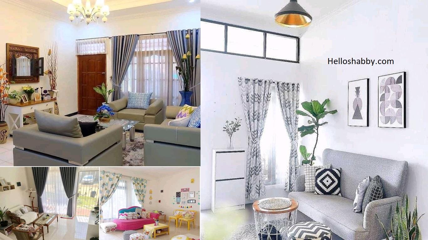 Ubah Interior Ruang Tamu Untuk Rumah Type 36 Yang Kecil Jadi Luas Desainnya Sungguh Menarik Helloshabby Com Interior And Exterior Solutions