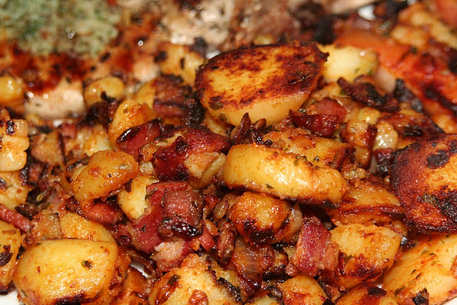Bacon Baked Potatoes Recipe rvrecipes