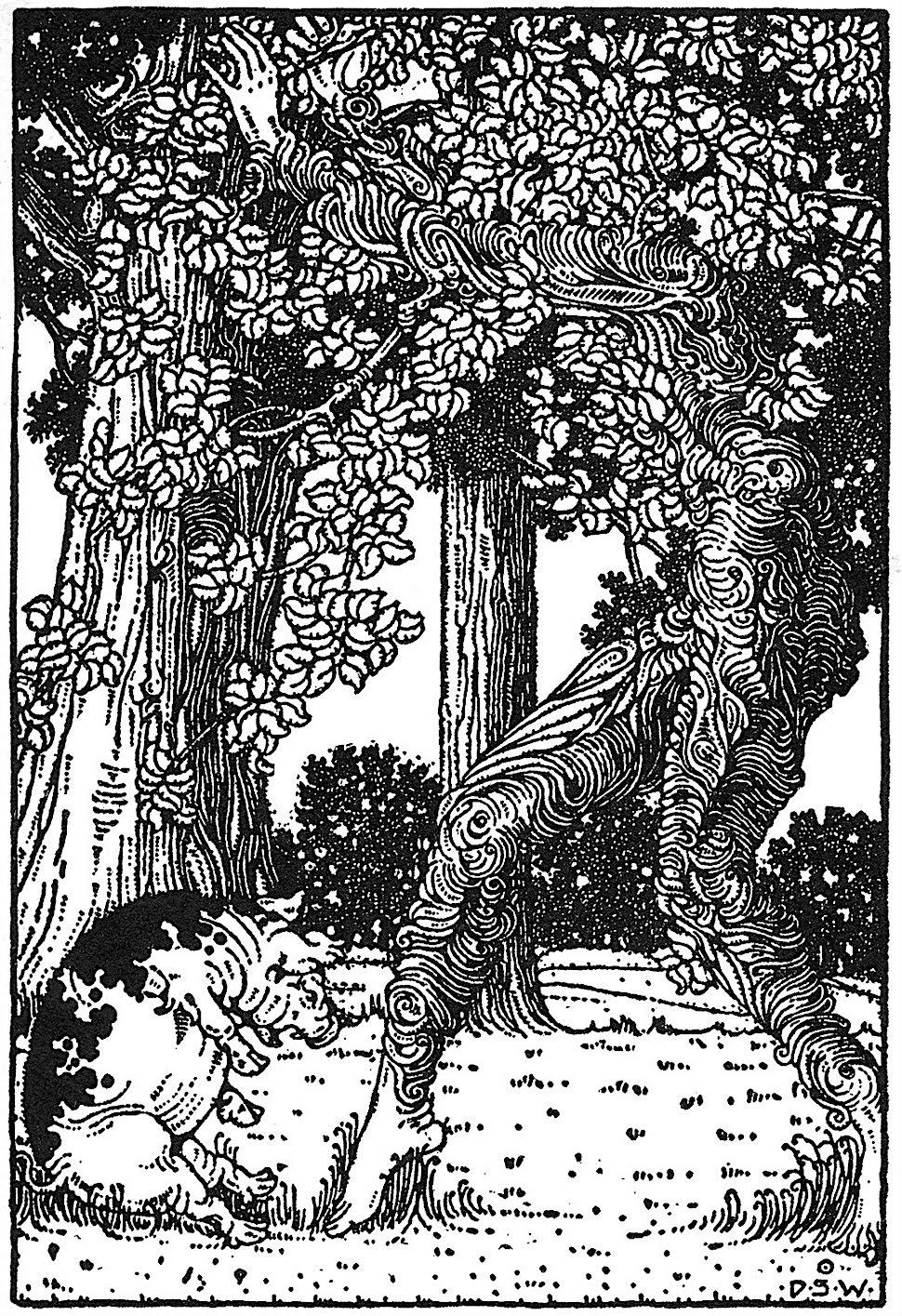 a Dugold Stewart Walker children's book illustration