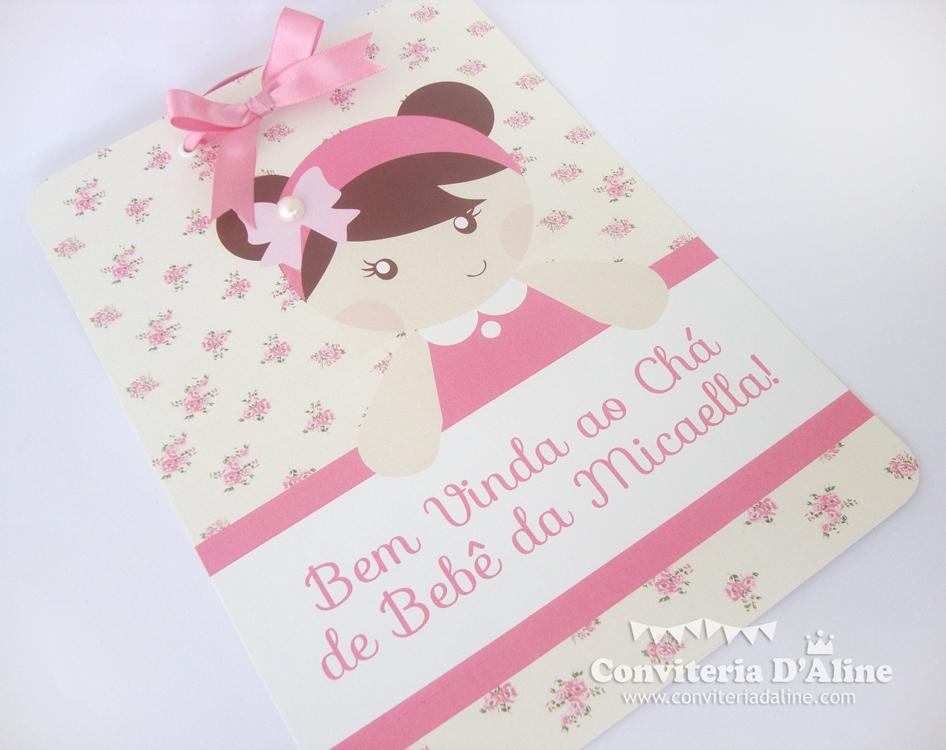 Blog Conviteria Daline Chá De Bebê Bonequinha Provençal
