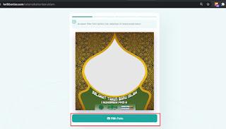 cara membuat twibbon tahun baru islam dengan twibbonizecom 1 - kanalmu