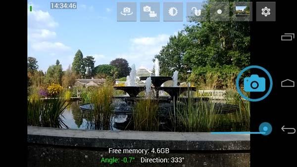 Aplikasi kamera terbaik - Open Camera