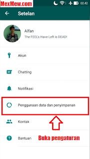 auto download media whatsapp,stop download otomatis wa,