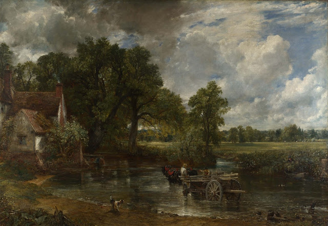 John Constable -El carro de heno - 1821