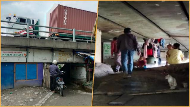 Risma Rajin Blusukan di Jakarta, Ternyata Ratusan KK di Surabaya Tinggal di Kolong Tol