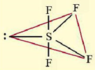 bentuk senyawa SF4