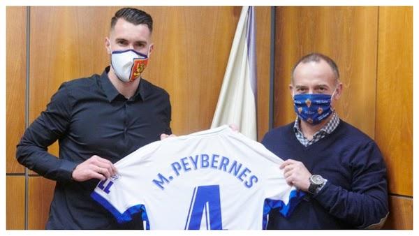 Oficial: Zaragoza, firma cedido Peybernes