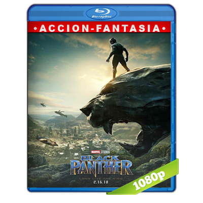 Pantera Negra (2018) BRRip Full 1080p Audio Trial Latino-Castellano-Ingles 5.1