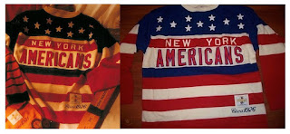 NHL CCM Heritage Jersey Collection - New York Americans circa 1926