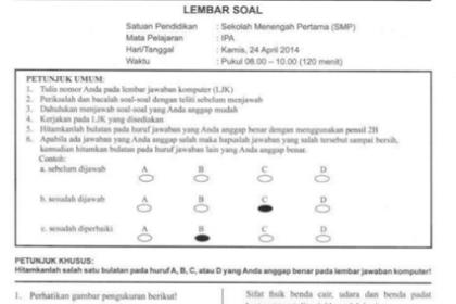 DOWNLOAD Kumpulan Soal Latihan UN SMP/MTS