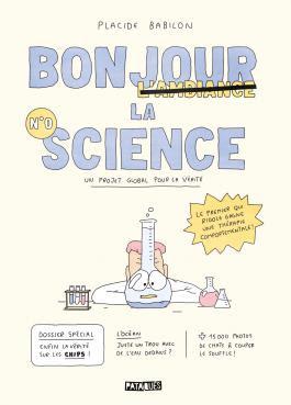 couverture de Bonjour la science de Placide Babilon paru chez Delcourt